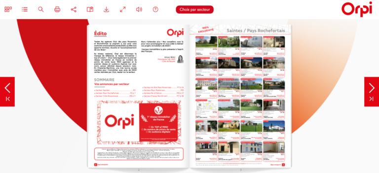 Catalogue Interactif Orpi Kadreo